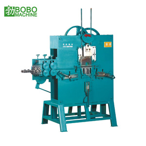 Automatic Steel Wire metal strip clip D Ring r pin u bolt Making rolling Machine hanger hook bending making forming machine