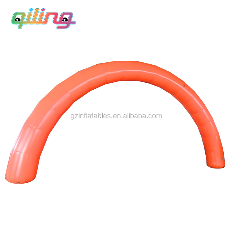 2016QiLing cheap inflatable rainbow arch /outdoor wedding inflatable arch