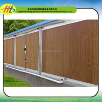 factory wholesale CE certification evaporative cooling pad for poultry farm house /greenhouse/industry