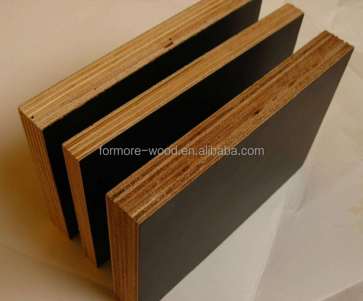 12mm black film faced plywood combined core plywood 1220X2440mm plywood professional supply