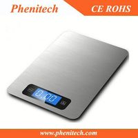 2014 new degsin analog slim kitchen scale KS-806