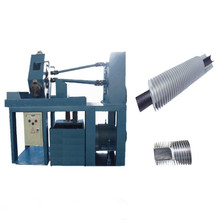 extruded aluminum fin tube machine