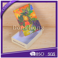 Glossy luxury fancy gift packing chalk packaging box