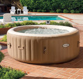 Intex 28404 Inflatable Deluxe Heat Bubble Massage Jacuzzi swim spa