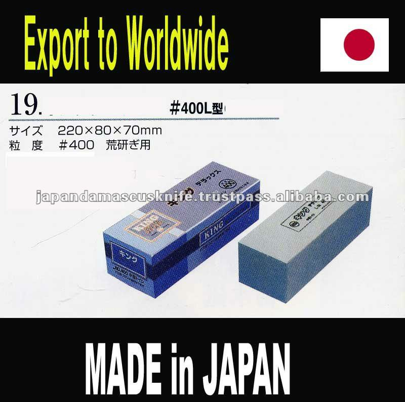 KING sharpening stones JAPAN / whetstone / MADE IN JAPAN / knife shapner