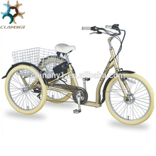 Factory whosale the cheapest motorized promotional basket cargo adults tricycle with good quality