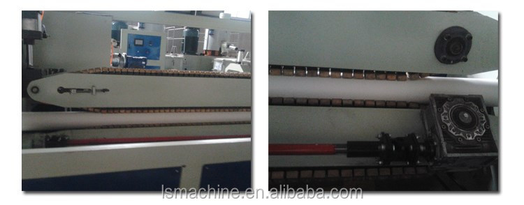 Tube extrusion machinery PVC pipe manufacturing machine
