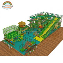 Jungle gym 3 Level Treehouse Indoor Playscape