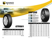 2015 RHINO BRAND UHP SUV AT MT HP PASSENGER CAR TYRE WITH INMETRO FOR BRAZIL MARKET INMETRO TYRES