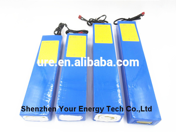 2016 hot sale electric vehicle 48v 20ah lifepo4 battery pack with safety shipping