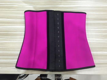 guangzhou latex waist trainer with latex hook best waist trainer corset