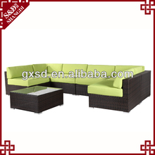 SD high quality cheap wicker bedroom furniture