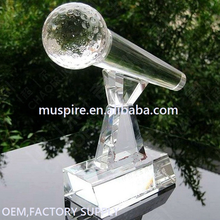China factory price best choice blank crystal and glass award