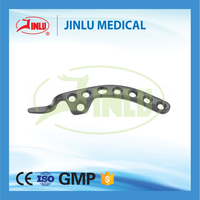 Since 1958 combination hole Clavical Claw Locking Plates(L/R tyep),clavicle hook safety locking plate,orthopedic implant plate