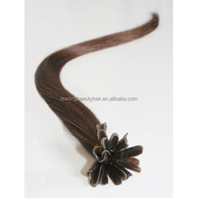 u-tip hair ~ hot sales human Brazilian 100% remy hair extention