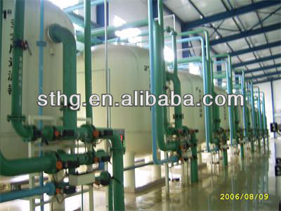 RO water treatment system for boiler feed water