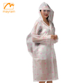 EVA or pvc material cheap foldable raincoat