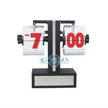 Mini Table Plastic Modern Flip Clock