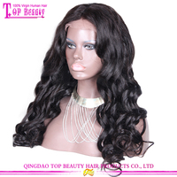 Fashionable high quality 6A body wave 100% extra long wigs large african american wigs