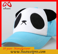 Chinese hat wholesale new winter cartoon direct adult baseball cap and panda hat