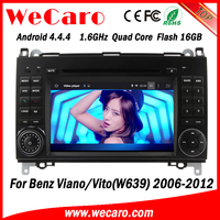 Wecaro WC-MB7682 Android 4.4.4 radio 2 din car dvd for Mercedes-benz Vito/Viano 2006 - 2012 TV tuner
