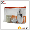 Wholesale Professional Makeup Hanging Clear PVC Cosmetic Bag for Travel
