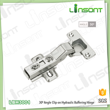 Professional supplier 30 degrees hydraulic conceal hinge allibaba com angle hinge