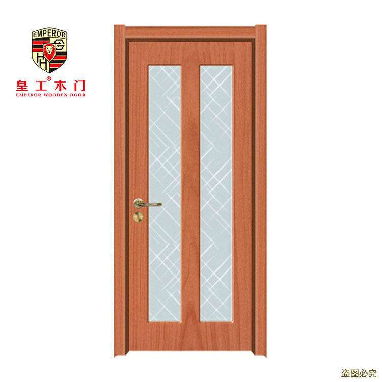 <strong>Oak</strong> Wood Classic Design bathroom tempered glass door