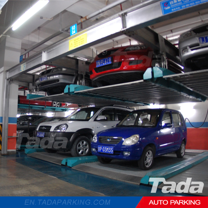 Double-layer PSH puzzle automatic vehicle parking system/smart parking equipment