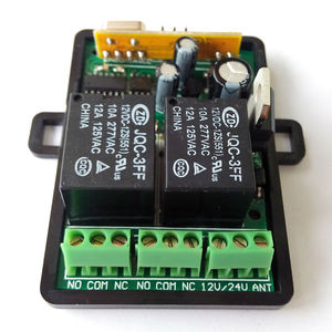 remote control receiver with 1KW relay