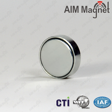 20x15mm Disc Neodymium Magnets with mu-metal magnetic shield