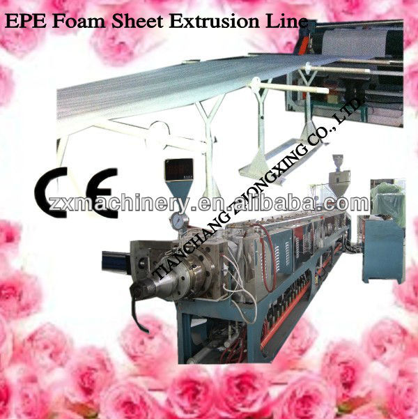 TOP GRADE Plastic Expanded EPE foam sheet production plant