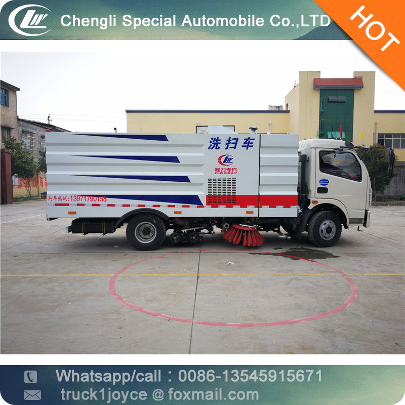 Factoy Supply 3-5 Cbm Foton Mini Road Sweeper For Loader,Leaf Sweeper,Used Street Sweeper