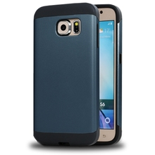 Hot selling slim armor cover for samsung galaxy s6 edge+ case