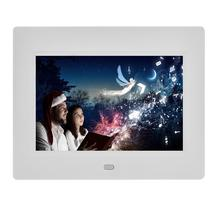 Battery operated 7 inch led player digital photo frame