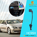 2017 OEM product three USB car charger magnetic holder smartphone magnetic holder