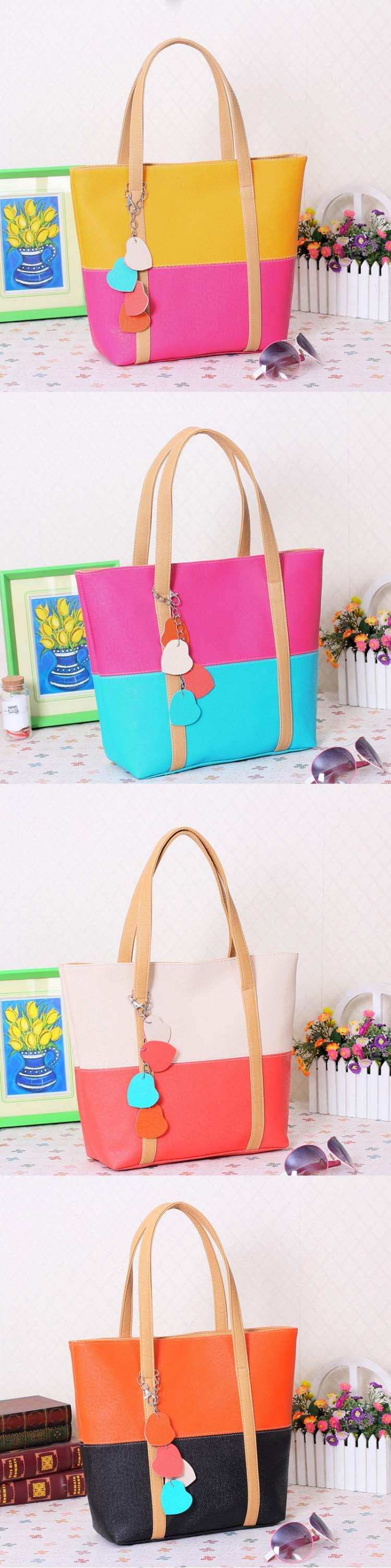 free sample  Summer fashion new Tote Bag pendant women shoulder bag