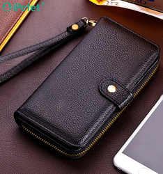 Luxury Mobile Phone Bag Wallet Magnetic Leather Case For Smart Phone,For iPhone 6