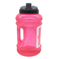 toofeel brand pink color water bottle without label with different shape and colours