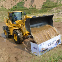 Cheap Price FOTON LOVOL FL958G used wheel loader