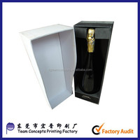 High Quality Strong Paper cardboard Wine Glass Gift Box
