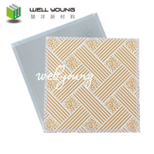 Exceptional t-bar gypsum ceiling substitute for pvc laminated gypsum ceiling tiles