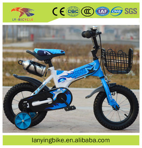 2018 new model light blue kids bike children bicycle/12 inch child bike from trade ensure alibaba