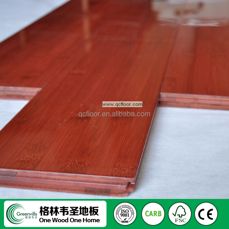 High Gloss Vertical/Horizontal Bamboo Flooring made in China