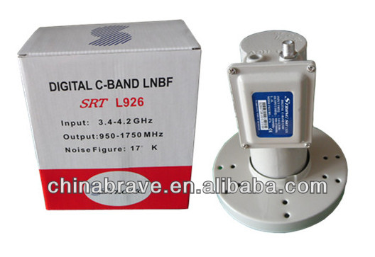 LNB Single Monoblock 6  0.2dB for Astra DVB-S2 Hotbird 13 Globo Ultra HD 4K
