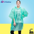 Free size extra large waterproof rain poncho with sleeves