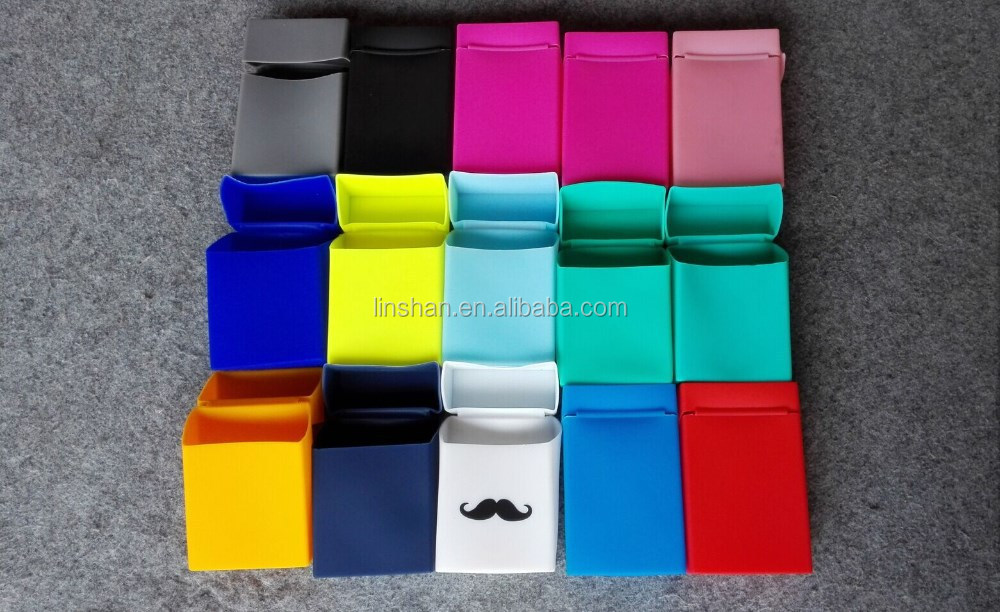 Waterproof Smoking Silicone Cigarette/ Tobacco Case/Box
