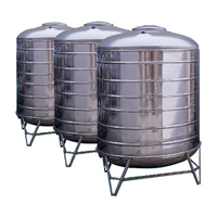 Stainless steel liquid storage tank for oil milk wine beverage solvent etc water well drilling equipment