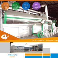 HOT Sell Environment friendly Continuous Tyre Recycling Plant