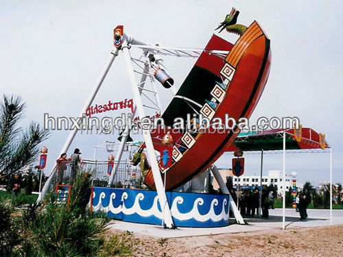 Amusement park items Mini Children Rides Pirate Ship